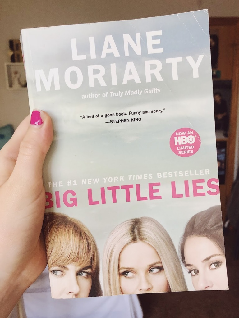 Big Little Lies book by Liane Moriarty