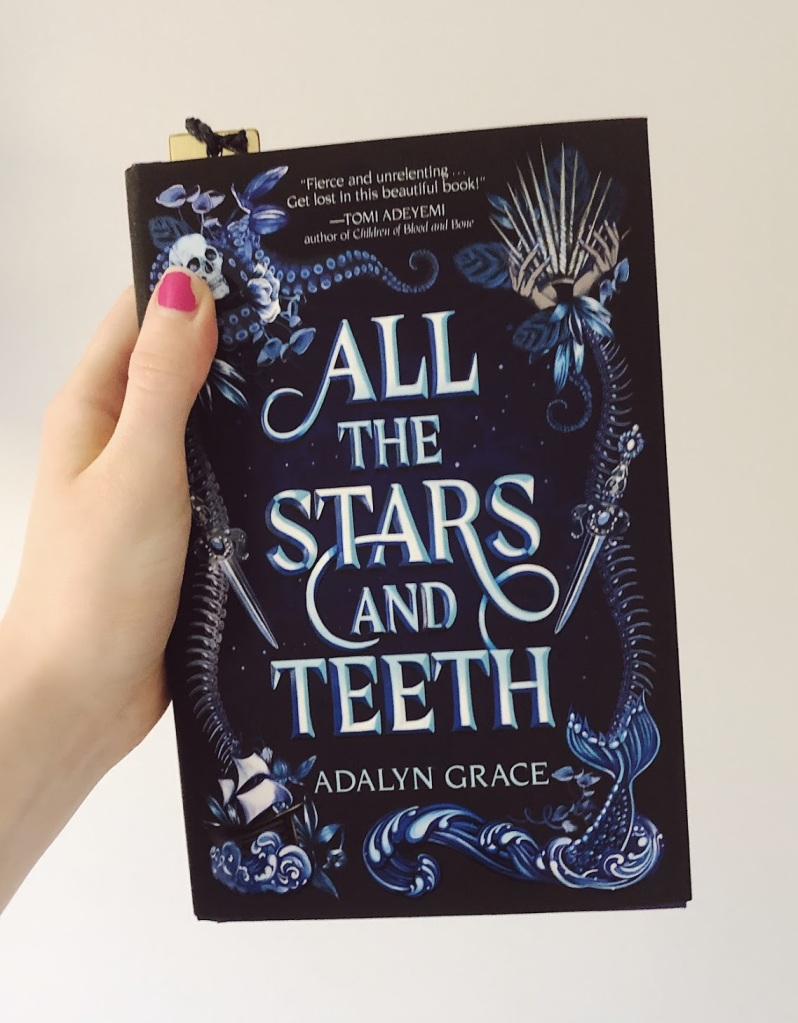 Front cover of the book, All the Stars and Teeth