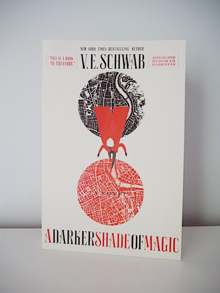 Book cover of A Darker Shade of Magic