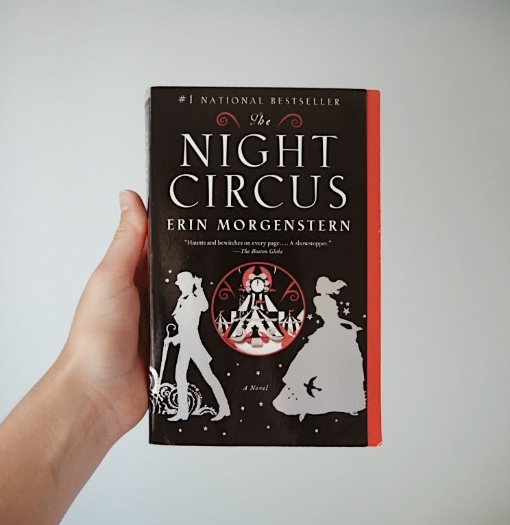 Front cover of the book The Night Circus